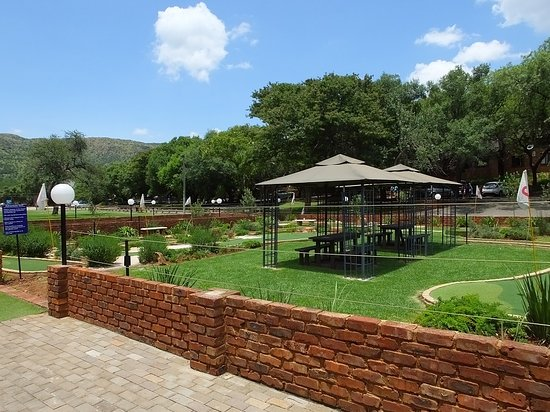 Our Spacious Patio With Built In Braai Picture Of Mount