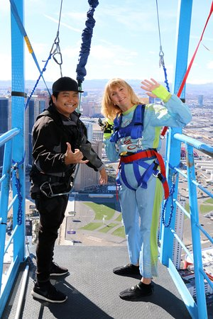 Ready to do the Sky Jump and drop 855 feet! - Picture of