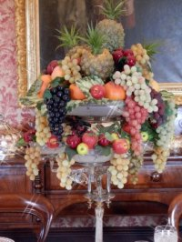Beautiful fruit bowl in the dining room -  ...