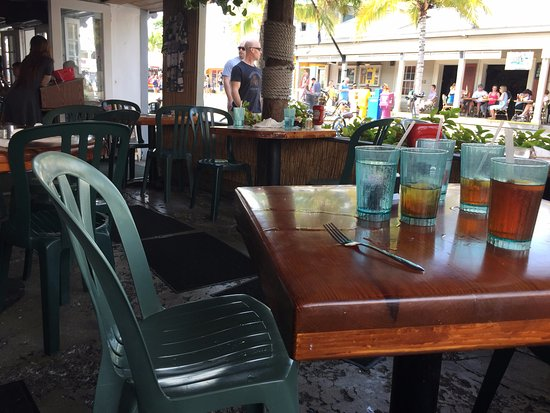Dining Picture Of Two Friends Patio Restaurant Key West