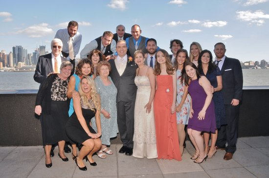 Our wedding at Chart House, Weehawken, NJ - Picture of Chart House