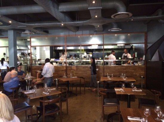 die offene Küche - Picture of Foxcroft Restaurant, Constantia - offene kuche