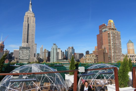 Roof Top Bar Picture Of 230 Fifth Rooftop Bar Nyc New