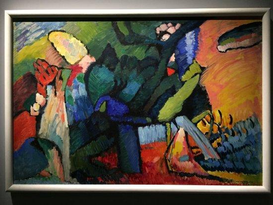 Des exemples de tableaux de Kandinsky exposés à Milan - Picture of