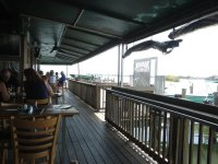 Patio Seating at Riverside Cafe, Vero Beach, FL - Picture ...