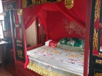 """Bed in the """"Chinese Style Deluxe Wedding Room"""" - Picture ..."""