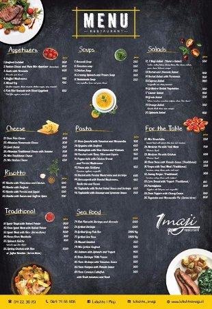 Restaurant Menu - Picture of Lulishte 1 Maji, Tirana - TripAdvisor