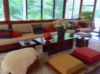 Living room - Picture of Fallingwater, Mill Run - TripAdvisor