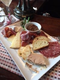 meat and cheese plate - Picture of Grill 225, Charleston ...