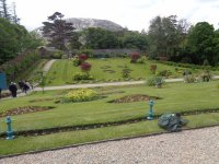 walled garden - Picture of Kylemore Abbey & Victorian ...