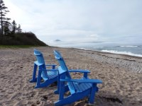 Muskoka Chairs on the beach - Picture of The Markland ...