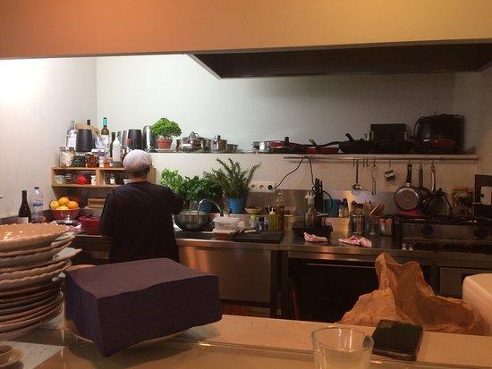 Die offene Küche - Foto de Tasca da Quinta, Peso da Régua - offene kuche