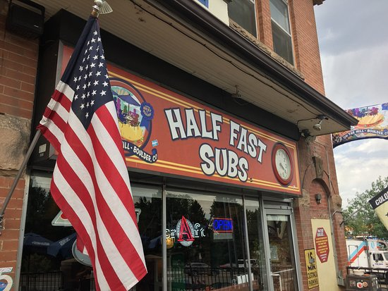 Menu - Picture of Half Fast Subs, Boulder - TripAdvisor