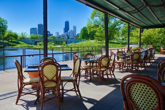 The Patio at Cafe Brauer, Chicago