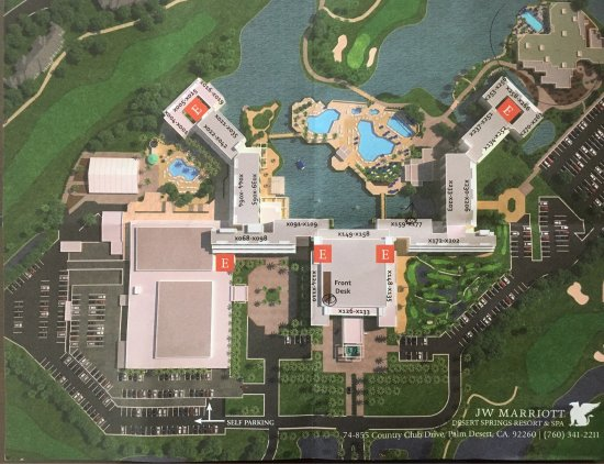 Hotel Layout Picture Of Jw Marriott Desert Springs