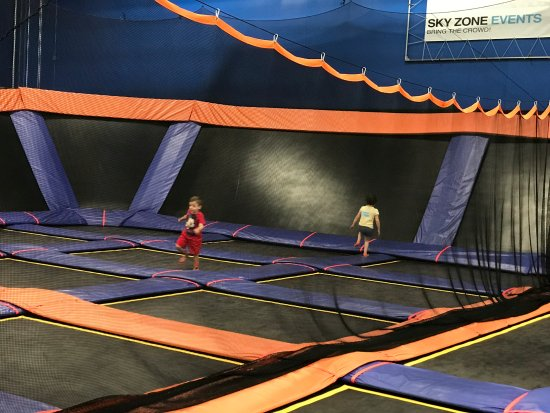 Little pricey but kids love it - Review of Sky Zone, Lakewood, NJ