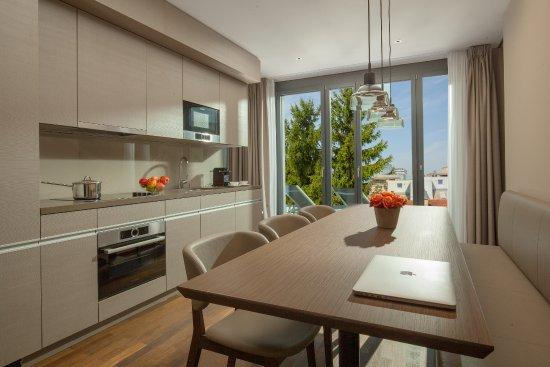 Küche - Picture of ACASA Suites, Zurich - TripAdvisor - esszimmer 25hours