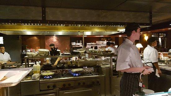 Offene Küche 1 - Picture of Carderou0027s Restaurant \ Live Bait - offene kuche