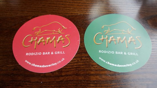 Food Menu - Picture of Chamas Rodizio Bar  Grill, Beverley