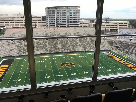 View from the suites - Picture of Nile Kinnick Stadium, Iowa City
