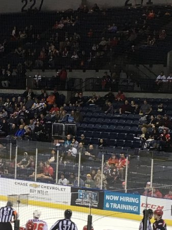 Stockton Heat vs Grand Rapids Griffins - Picture of Stockton Arena