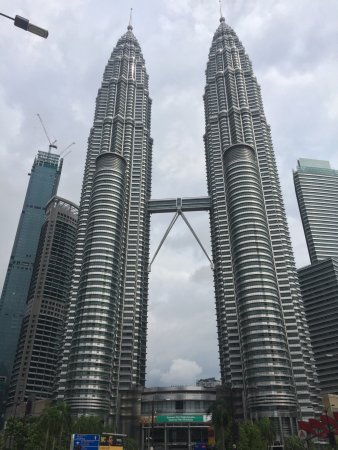 Petronas Twin Towers Of 88 Floors Each In Downtown Kuala