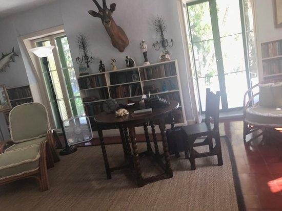 Hemingway Writing Studio Billede Af Ernest Hemingway