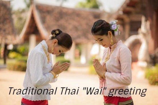 Everyday Thai Greeting - Picture of Spirit of Thailand, Corralejo