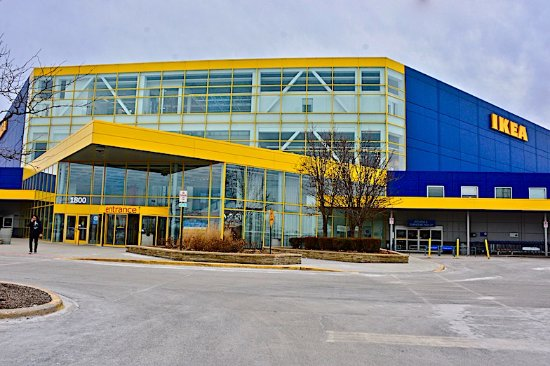 Ikea Schaumburg Exterior View Of Ikea, Schaumburg Il - Picture Of Ikea