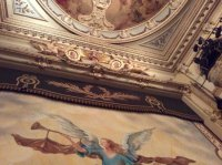 Stage and ceiling - Picture of Wyndhams Theatre, London ...