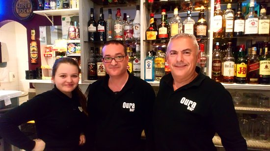 Oura Bar Manager and Staff - Picture of Oura Bar, Albufeira