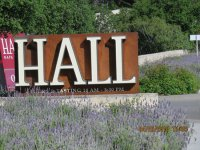 Front entrance sign - Picture of HALL St. Helena, St ...