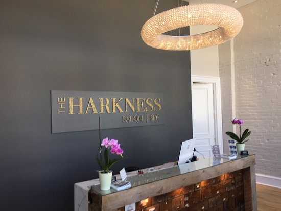 The Harkness Salon and Spa front desk - Picture of The Harkness