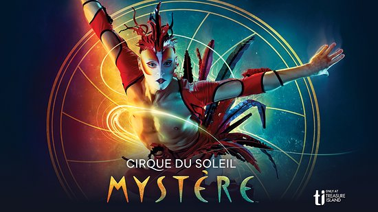 The best seats are not in the front - Review of Mystere by Cirque du