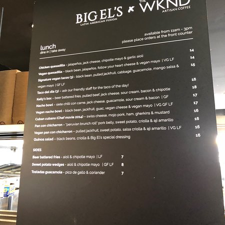 photo1jpg - Picture of Big El\u0027s X The WKND, Perth - TripAdvisor