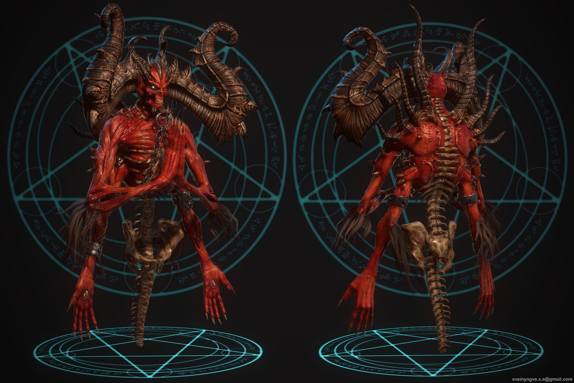 Diablo Hd Wallpaper Diablo 2 Bosses Remade In Hd News Diablofans