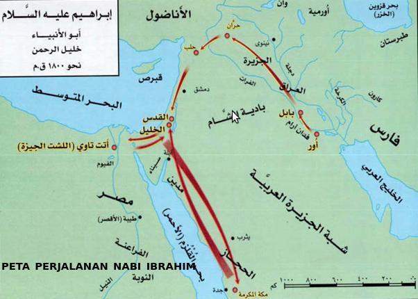 Peta Perjalanan Ibrahim