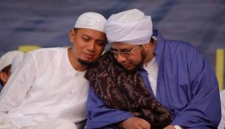 Habib Munzir dan KH Arifin Ilham