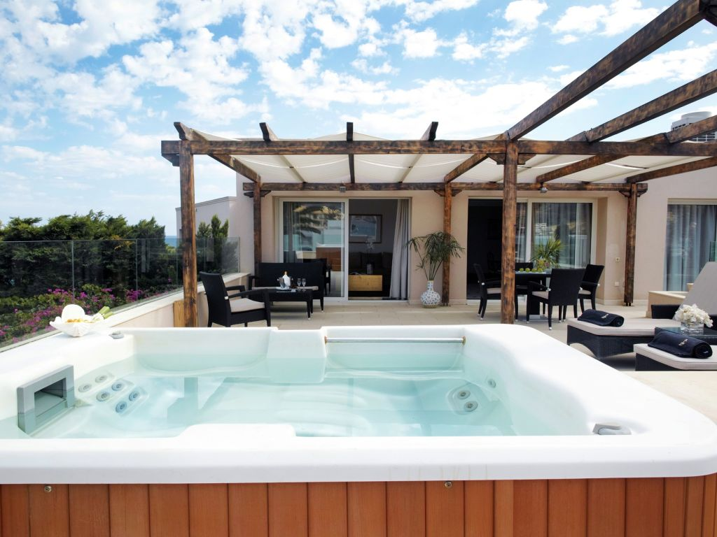 Outdoor Whirlpool Cheap Gorgeous European Hotels With Their Own Private Hot Tubs