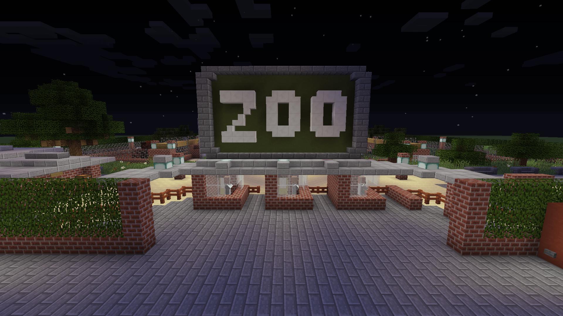 Minecraft Zoo
