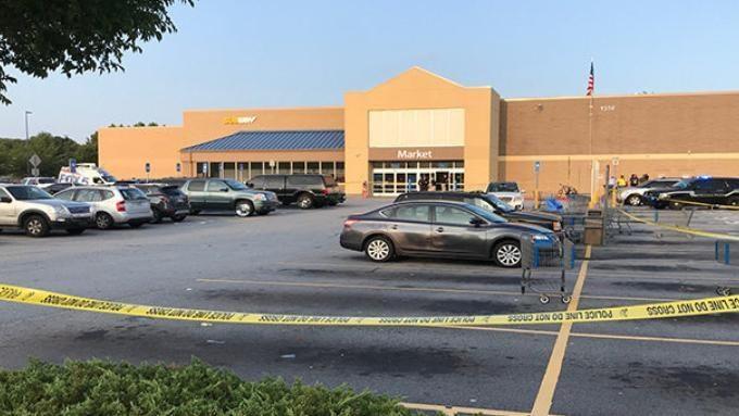 Walmart shooting Man killed in dispute over parking space