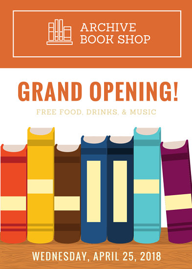 flyer book - Fashionstellaconstance - grand opening flyer template