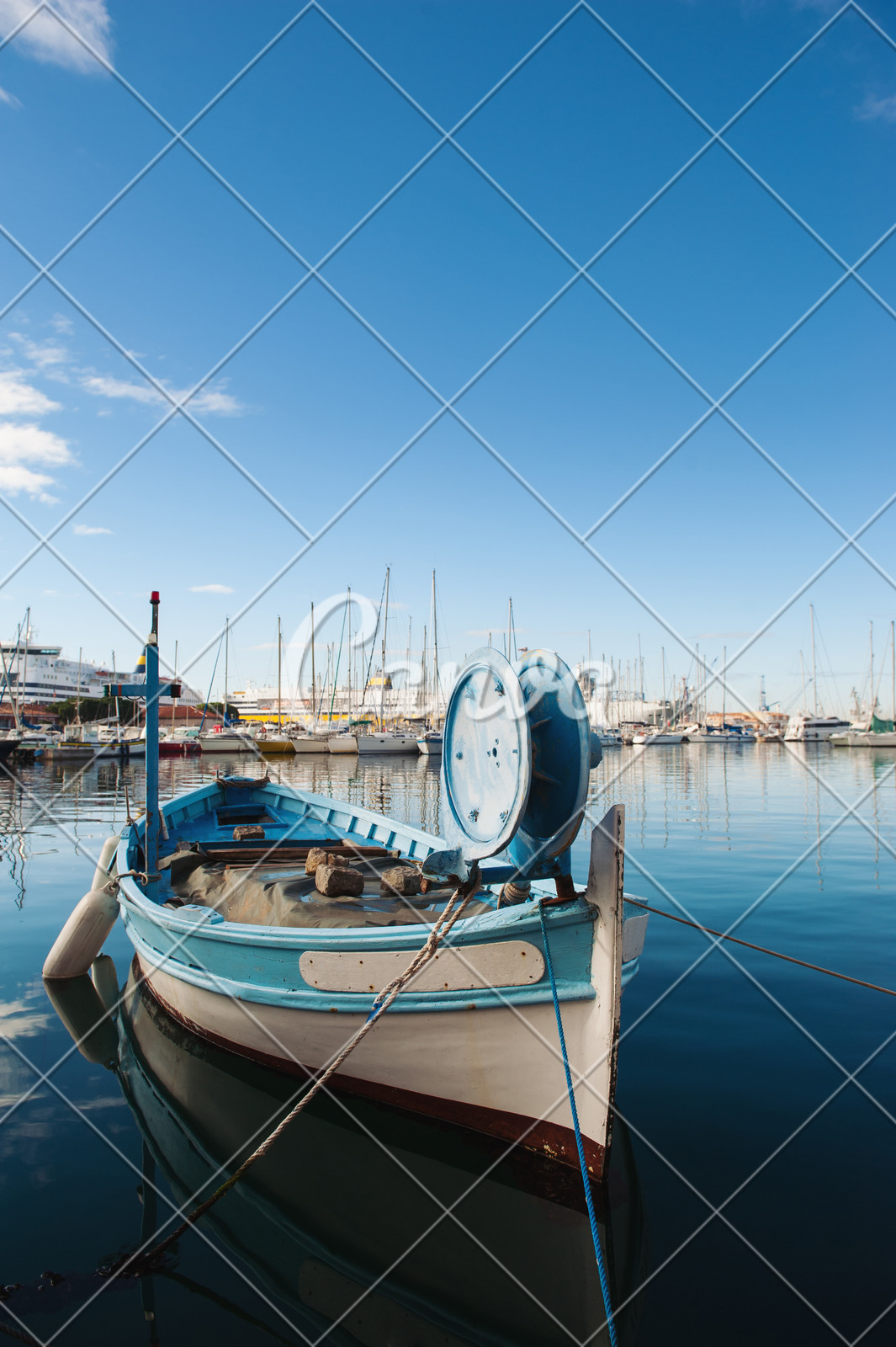 Port Toulon Small Fishing Boat In Toulon Port Photos By Canva