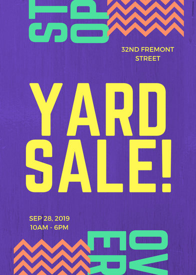 yard sale flyer - Athiykhudothiharborcity