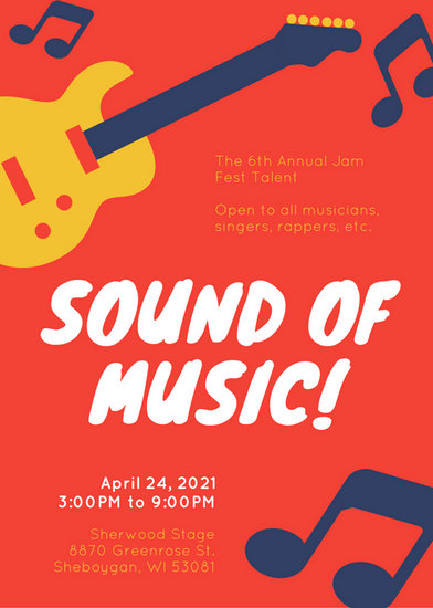 musical flyers - Selol-ink