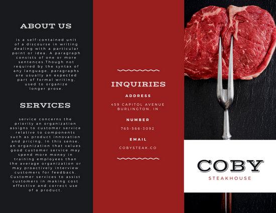 sales brochure template - Onwebioinnovate
