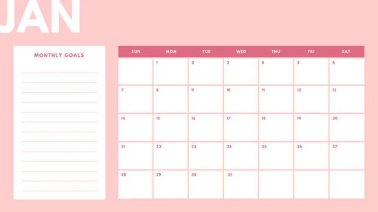 Monthly Calendar April Monthly Calendar Blank Printable Download