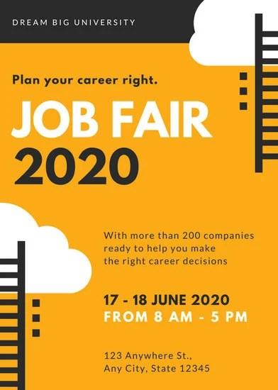 job fair flyer - Josemulinohouse - 9 sample job fair reports