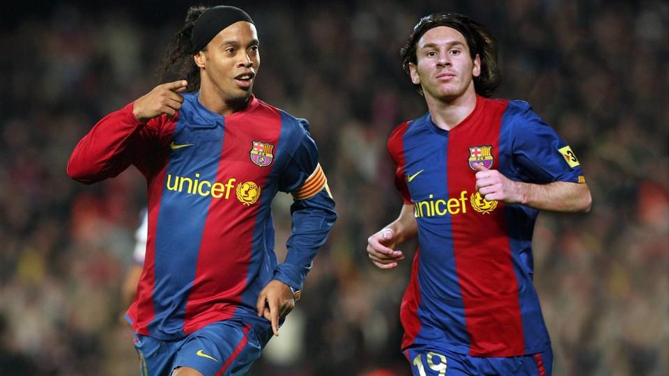 Ronaldinho Quotes Wallpaper Ronaldinho And Messi A Lethal Combination Fc Barcelona