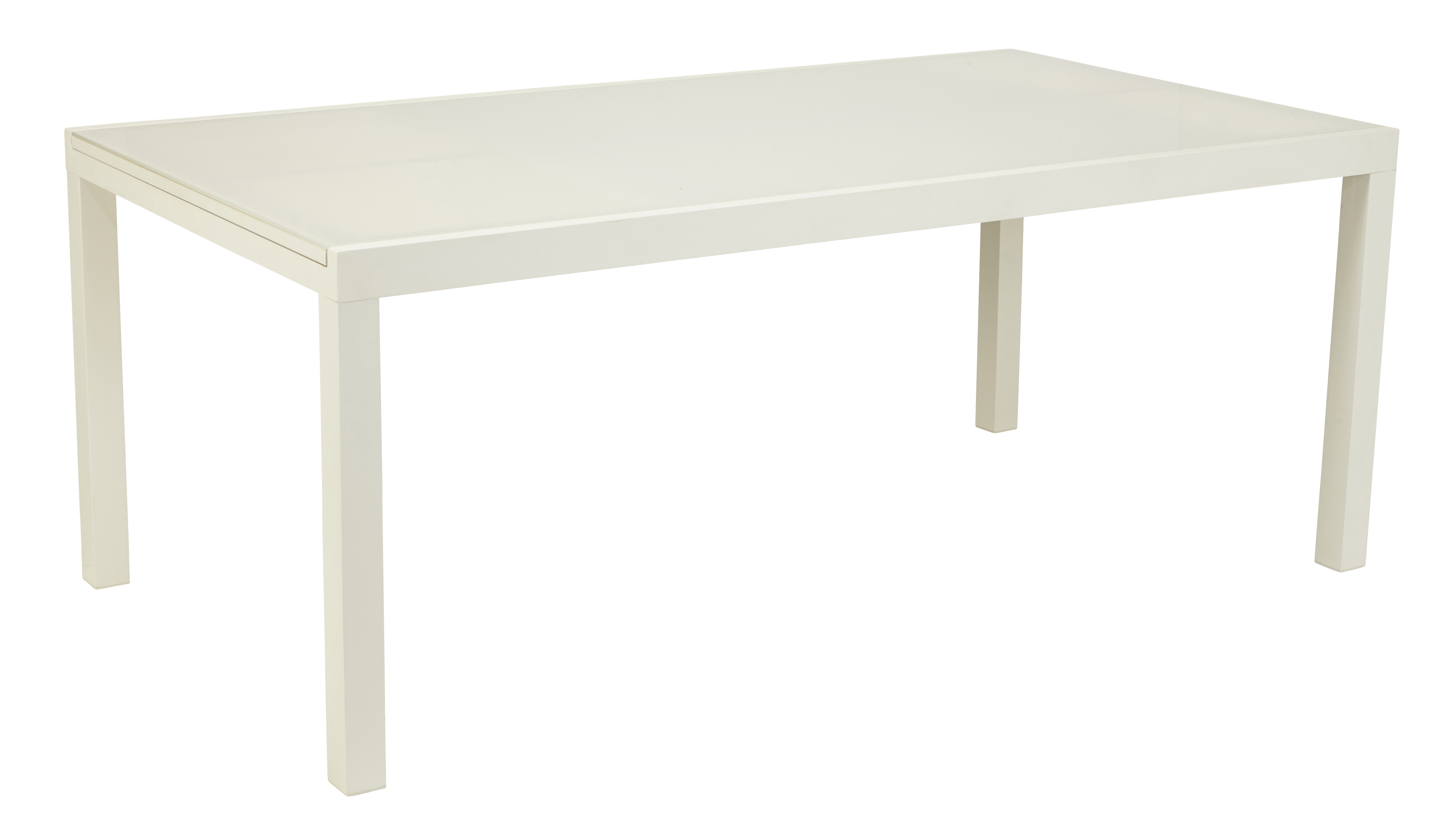Salon De Jardin Table En Verre Avec Rallonge Table Tello Extensible 190 300 Taupe
